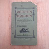 De Ziekten Der Honden Pieter Verstuyft Snoeck Ducaju Gent 1900 64 Blz - Antique