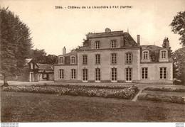 D72  FAY  Château De La Livaudière à Fay  ..... - Sonstige Gemeinden
