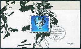 BRD - Mi 3513 ⨀ 53113 BONN - 80C                Ludwig Van Beethoven - Ausgabe 02.01.2020 - Used Stamps