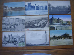 Lot De 89 Cartes D' OSTENDE - OOSTENDE - Oostende