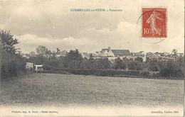 CPA Cormeilles-en-Vexin Panorama - Andere Gemeenten