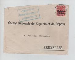 REF3809/ TP Oc 3 S/L. Etat Moyen (coupée - Déchirure) Càp Aerschot (Aarschot) 1915 Geprüft AERSCHOT > BXL - [OC1/25] General Gov.