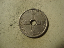 MONNAIE NORVEGE 1 KRONE 1939 - Norway