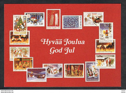FINLAND: 1983 GREETING CARD GOD JUL - MERRY CHRISTMAS - Other