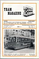 TRAM MAGAZINE N°13 à 16 - Bilingue Français / Néerlandais - 32 Pages - 16 Cm X 24 Cm - Nombreuses Illustrations - Trains