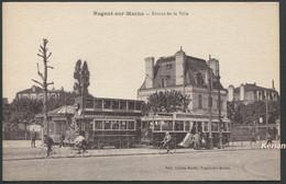 Nogent-sur-Marne - Entrée De La Ville - Tramways - Edit. Lucien Sentis - Voir 2 Scans - Nogent Sur Marne