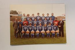 FOTO 17.5 X 13 CM  VOETBALPLOEG  GANTOISE +_ 1983 - Soccer