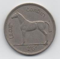 Irlande Éire : 1 Florin = 2s 6d : Cheval Horse 1959 (Diamètre 32 Mm) - Ireland