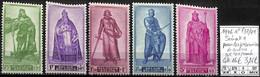 [847201]TB//**/Mnh-c:16e-Belgique 1946 - N° 737/41, Sénat 1, Pour Les Prisonniers De Guerre, SC - Nuovi