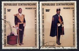 CENTRAFRICAINE - N° A132/133° - PRÉSIDENT BOKASSA - Repubblica Centroafricana