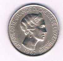 5 FRANC  1962 LUXEMBURG /2852/ - Luxembourg