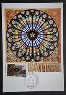 Carte Maximum Cathédrale De Strasbourg  AA 558 - Ohne Zuordnung