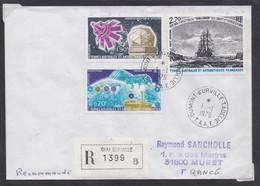 TAAF - Terre Adélie20 - 01.01.1979 - Recommandé - Storia Postale