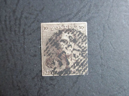 Nr 1 - Stempel Nr 73 Liège - 4 Mooie Randen - 1849 Epauletten