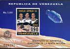 VENEZUELA, APOLLO 11, 1 Bloc, Neuf / Mint. R266 - Zonder Classificatie