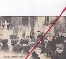 CP 62 - NEUFCHATEL   -    Souvenir De Mission 1913   (1 Pli) - Unclassified