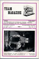 TRAM MAGAZINE N°17 à 20 - Bilingue Français / Néerlandais - 32 Pages - 16 Cm X 24 Cm - Nombreuses Illustrations - Trains