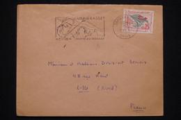 ALGERIE - Enveloppe De Tamanrasset En 1963 Pour Lille - L 93893 - Algerije (1962-...)