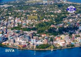 Fiji Islands Suva Aerial View New Postcard Fidschi AK - Fiji