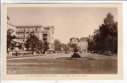 Cpa Le Touquet La Place De L Hermitage - Le Touquet
