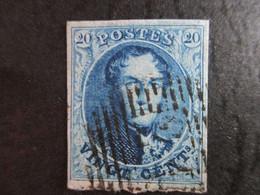 Nr 7  - Stempel 24 Brussel - 4 Randen, - 1851-1857 Medaillons (6/8)
