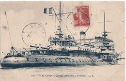 "Cpa  Cuirassé  "" Le Carnot "" - Warships"