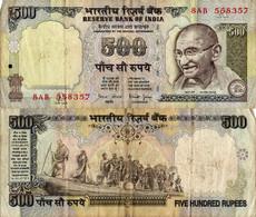 India / 500 Rupees / 1997 / P-92(b) / VF - India