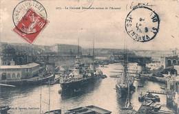 "Cpa  Cuirassé  "" Démocratie "" - Warships"