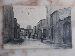 CPA  TOREILLES Avenue De Sainte Marie - Altri Comuni