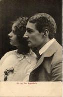 CPA AK Hr.og Frau Aggerholm THEATER STAR (643061) - Teatro