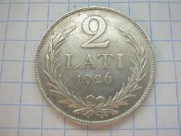 Latvia 2 Lati 1926 - Latvia