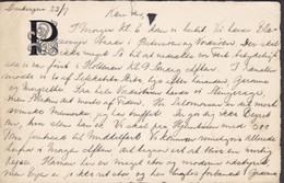 France DUNKERQUE-GARE 1928? (Embossed, Geprägt) Card Carte Direktor PADE, Klampenborgvej 12, KLAMPENBORG Denmark 2 Scans - Covers & Documents