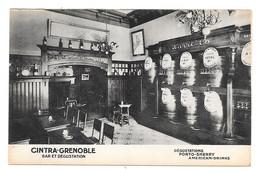 CPA 38 - GRENOBLE- CINTRA - BAR ET DEGUSTATION - PORTO SHERRY AMERICAN DRINKS - Grenoble