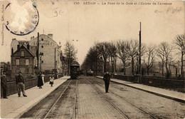 CPA AK SEDAN Le Pont De La Gare Et L'Entrée De L'Avenue (646704) - Sedan