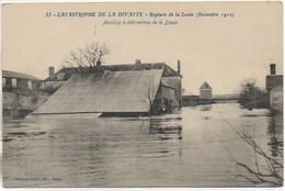 44 Catastrophe De La DIVATTE - Rupture De La Levée (Décembre 1910) Maisons à 200 M De La Digue - Otros Municipios