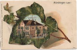 57 MÖCHINGEN (Morhange) Carte Gauffrée - Morhange