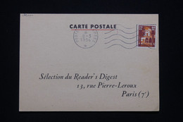 ALGÉRIE - Carte Commerciale ( Reader's Digest ) D'un Soldat Pour Paris En 1956 - L 93918 - Covers & Documents
