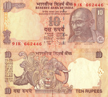 India / 10 Rupees / 2011 / P-95(t) / XF - India