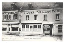 CPA 27 - ETREPAGNY - HOTEL DU LION D'OR (BEAU PLAN) - Altri Comuni