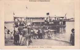 Dahomey Arrivée Du Roume à Cotonou N°14 - Dahomey