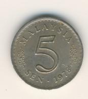 MALAYSIA 1978: 5 Sen, KM 2 - Malaysia