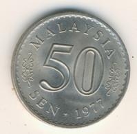 MALAYSIA 1977: 50 Sen, KM 5 - Malaysia