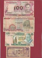 Autres-Afrique 12 Billets Dans L 'état - Other - Africa