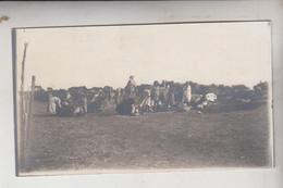 SOMALIA ITALIANA COLONIE BENADIR FOTOGRAFIA  ORIGINALE MERCATO DI UAN LE UEIN  CM 14 X 8 - War, Military