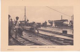 Dahomey Cotonou Sur Le Wharf Editeur E R Transports Voie Ferré - Dahomey