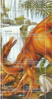 TURKMENISTAN - 1998 - Prehistoric Animals - Perf 6v Sheet - Mint Lightly Hinged - Turkmenistan