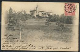 """TUNISIE - N° 23 / CPA OBL. MARITIME """" MARSEILLE / LIGNE DE TUNIS LE 30/4/1904 """" POUR SENAS - TB - Covers & Documents"""