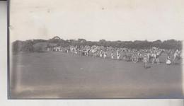 SOMALIA ITALIANA COLONIE BENADIR FOTOGRAFIA  ORIGINALE 1913/1915  TRUPPE PER L'OCCUPAZIONE DI BUR HACABA  CM 14 X 8 - War, Military