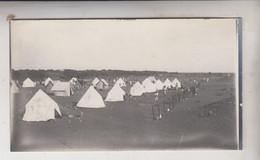 SOMALIA ITALIANA COLONIE BENADIR FOTOGRAFIA  ORIGINALE 1913/1915 ACCAMPAMENTO ASCARI  CM 14 X 8 - War, Military