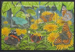 Jersey - 2012 - N°Mi. 1637 à 1639 - Papillons / Butterflies - Neuf Luxe ** / MNH / Postfrisch - Mariposas